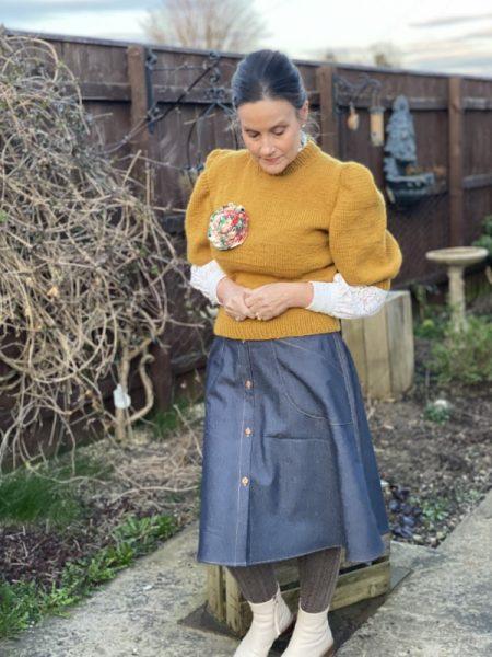 How to make a denim skirt