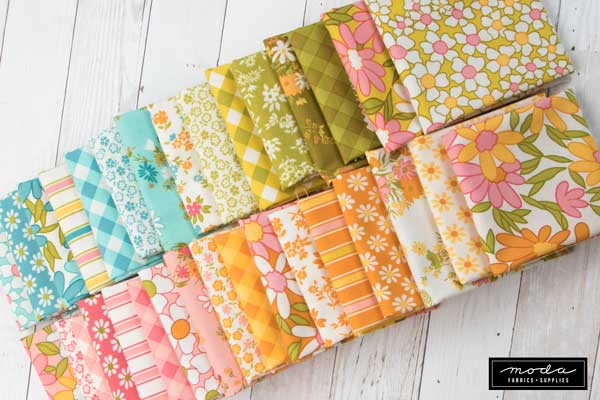 Floral fabrics for quilting