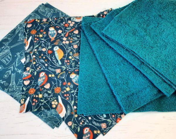 Reusable kitchen roll pattern
