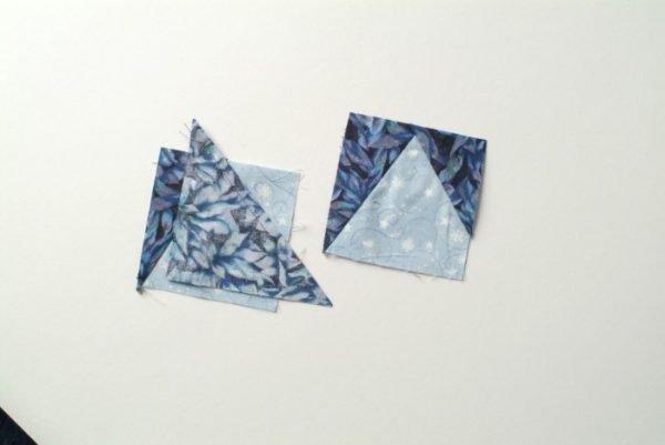 Free wonky star quilt block pattern