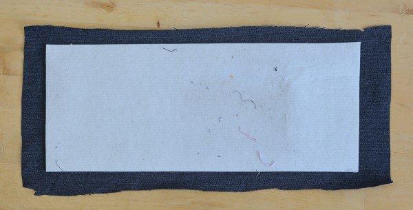DIY patchwork jeans tote bag