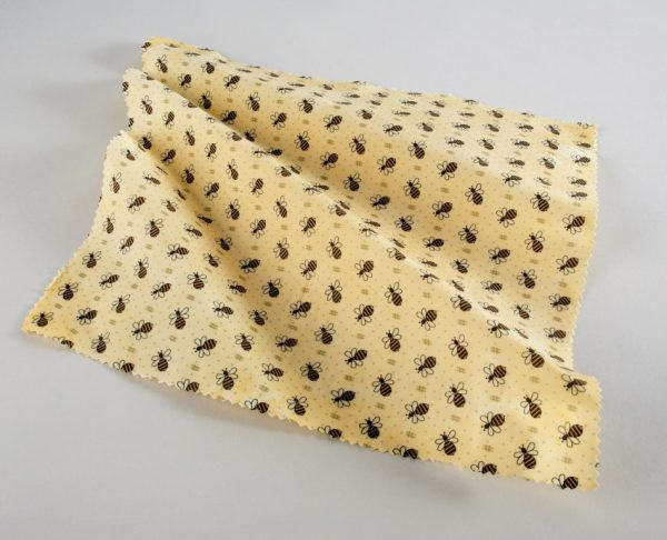 How to make beeswax wraps with an iron