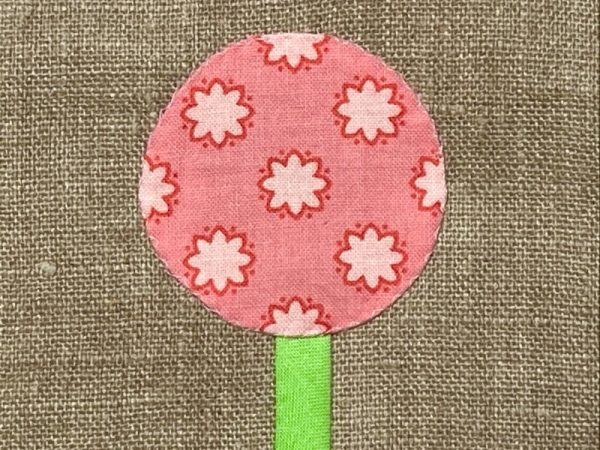 How to do an invisible applique stitch