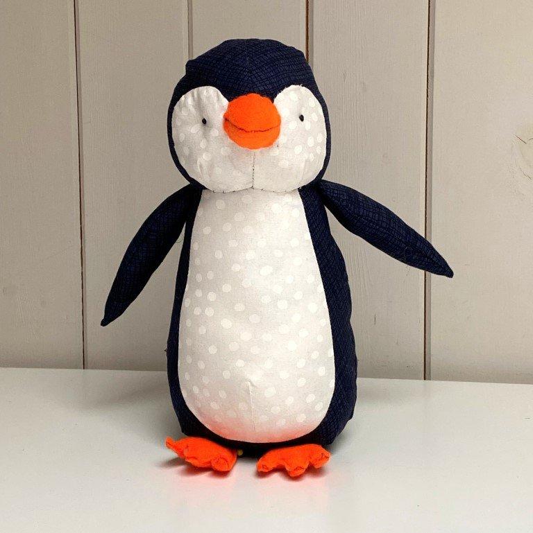 Penguin soft toy pattern