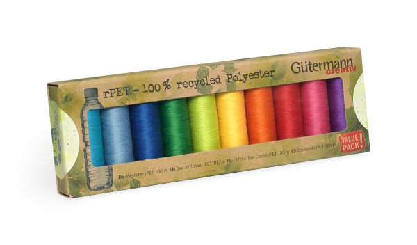 Eco-friendly thread from Gutermann