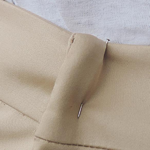 How to alter pants at the waist
