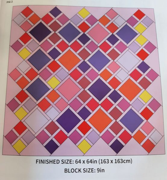 Quilts to sew with fat quarters