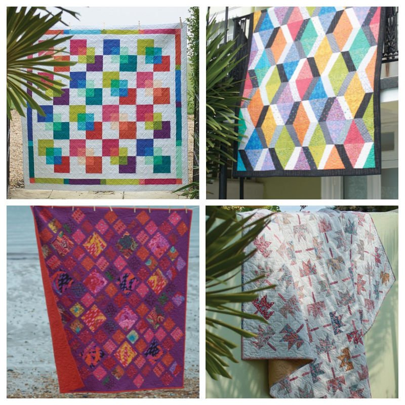 Quilts made with fat quarters