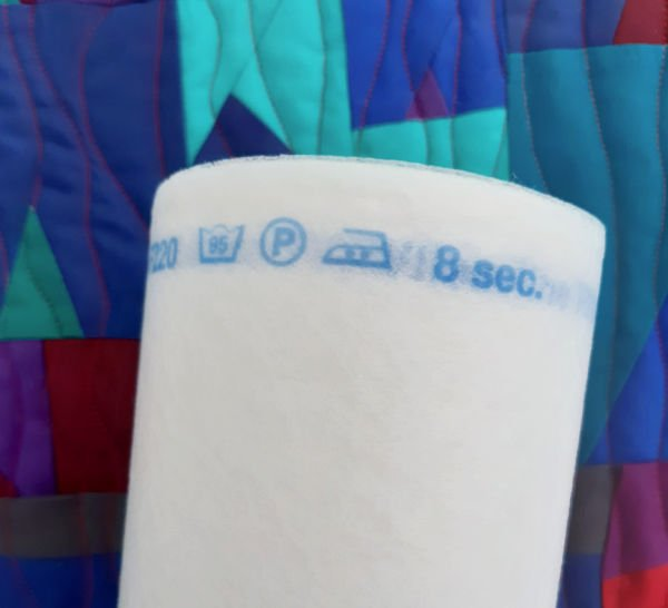 Instructions for using fusible interfacing