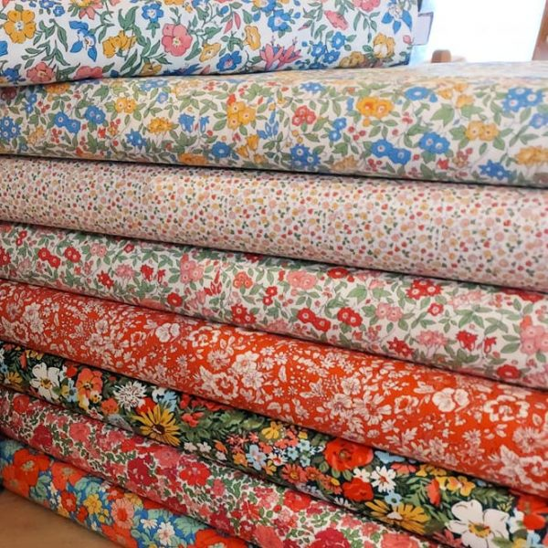 Liberty fabrics from Come to Quilt