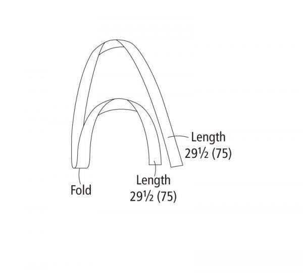Sewing bag straps