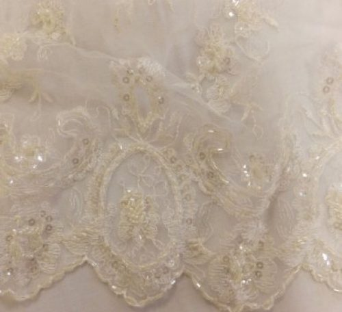 How to sew with delicate fabric like lace, chiffon and organza