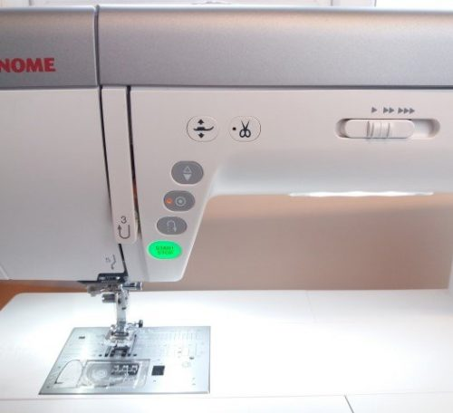 How to sew without using the foot pedal