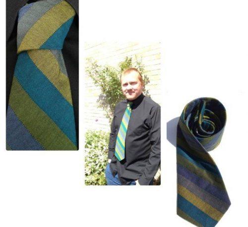 Sew a man's tie