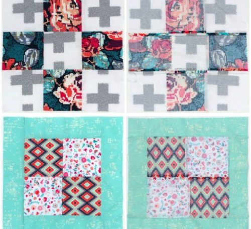 How to sew a nine patch quilt block
