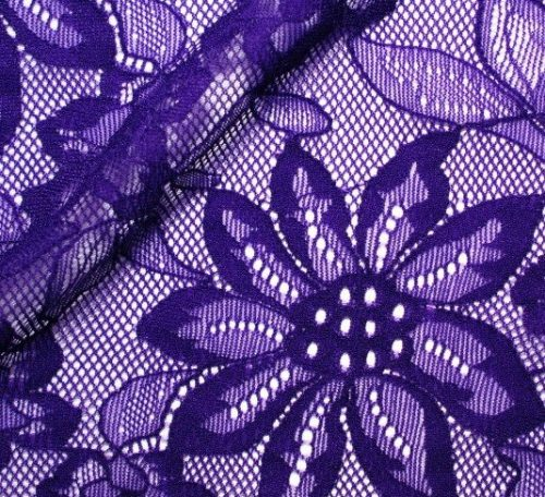 Sew with stretch lace