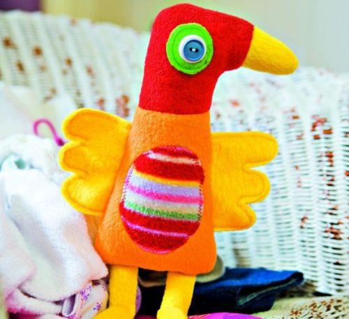 Albert the Bird Soft Toy