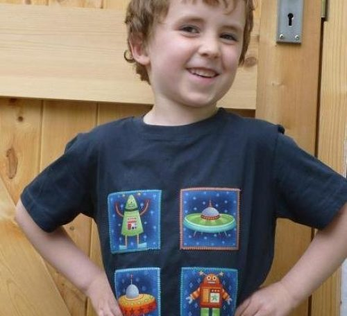 How to sew an applique t-shirt