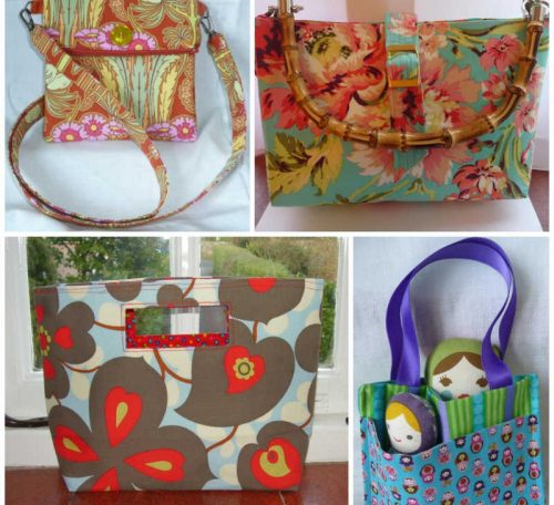 How to add straps to a handmade bag
