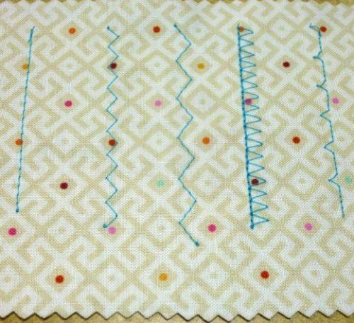 Basic sewing machine stitches