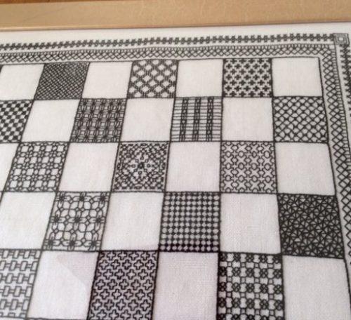 Blackwork embroidery tutorial