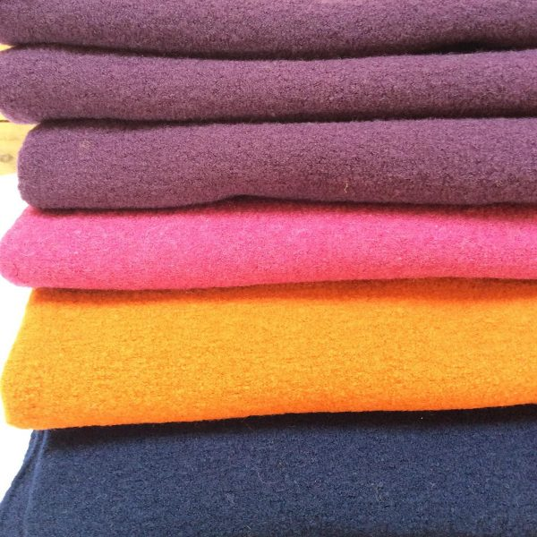 Boiled wool fabric from Dragonfly Fabrics