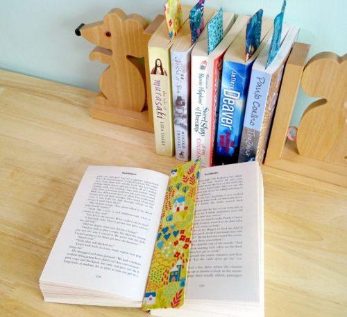 Sew easy bookmarks