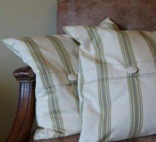 Make a button cushion