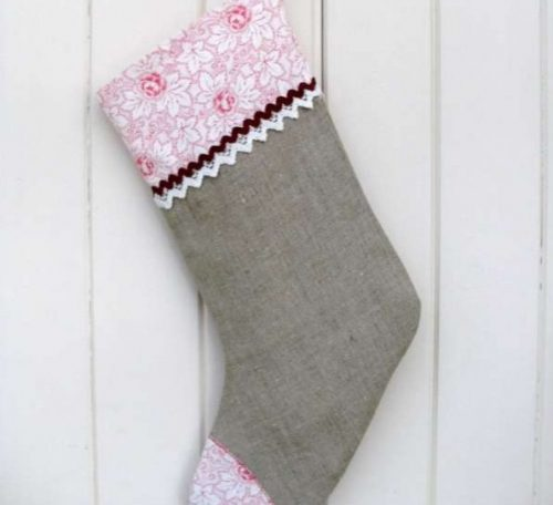 Free tutorial for a Christmas stocking