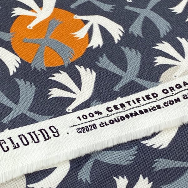 Organic quilting cotton by Cloud 9 fabrics