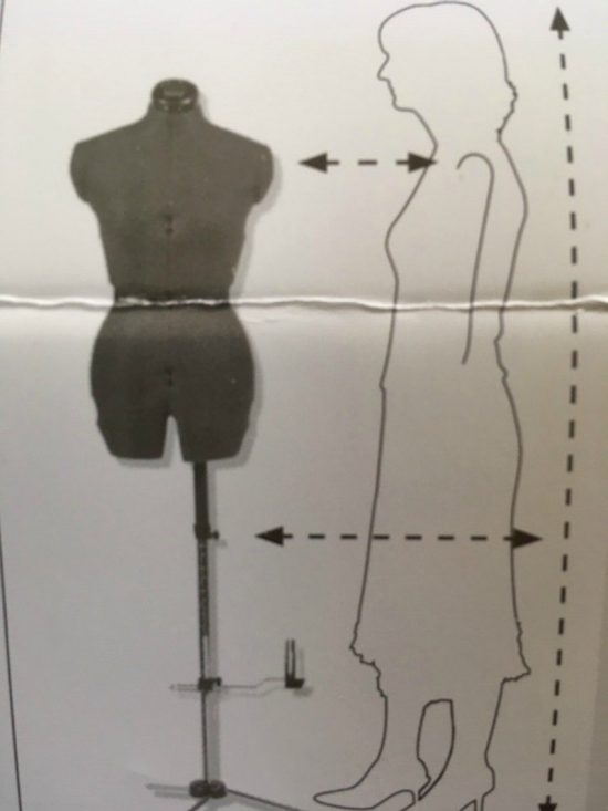 Measuring yourself for a dressform