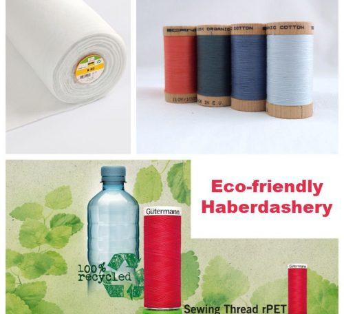 Eco-friendly haberdashery items
