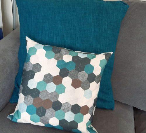 Envelope back cushion cover