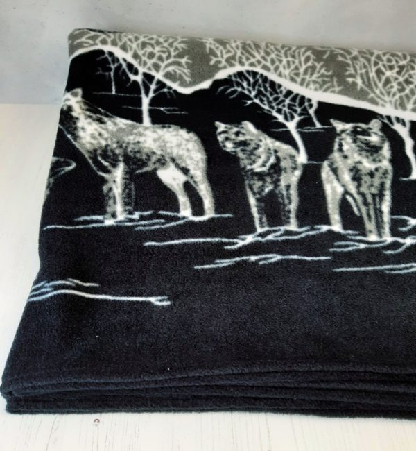 How to sew a fleece blanket