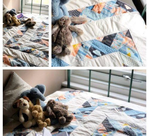 How to sew a baby quilt