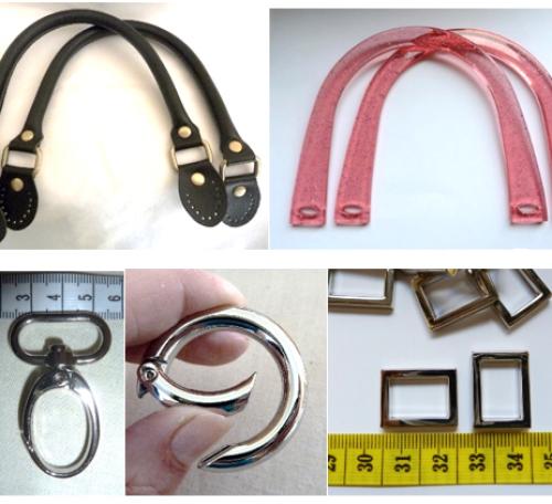 Bag frames and hardware