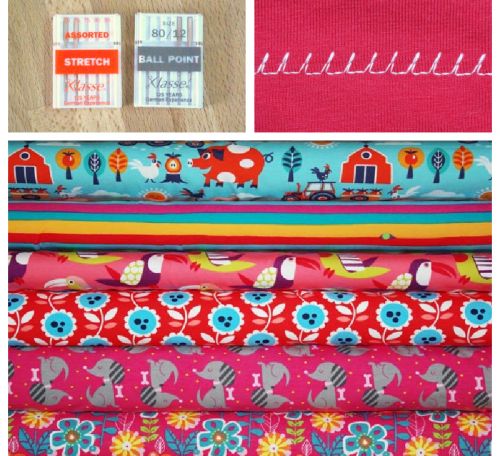 Tips for sewing jersey fabrics