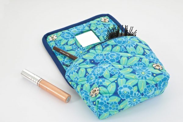 Make up bag with a mirror sewing tutorial