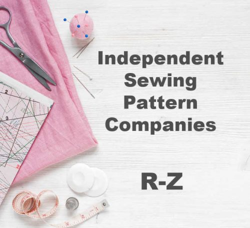 Where to find dressmaking patterns by independent designers