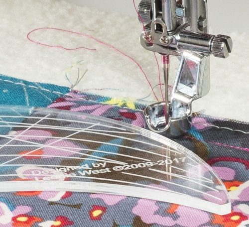 How to quilt using rulers