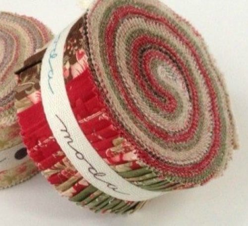 Sew a quilt with a jelly roll