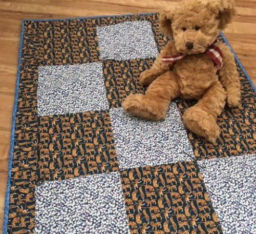 Beginner's baby quilt project