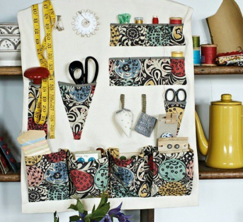 Sewing room organiser project