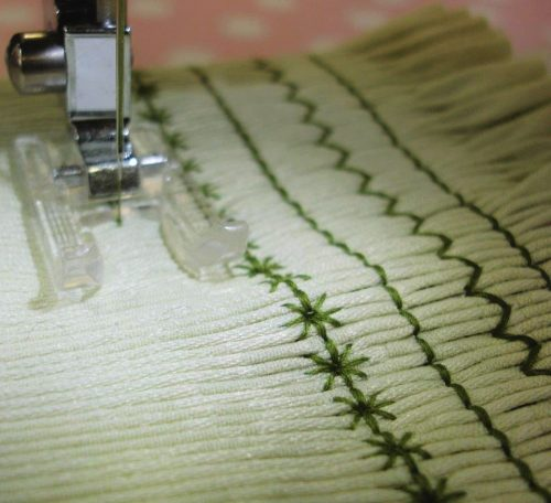How to do smocking on your sewing machine