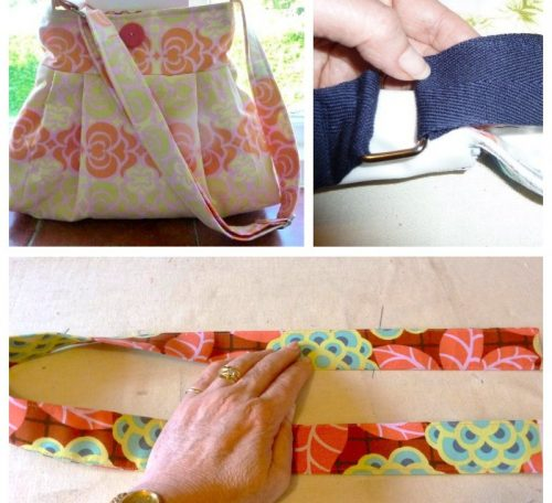 How to sew handles for a bag