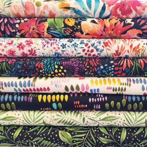 Floral Fabrics for quilters