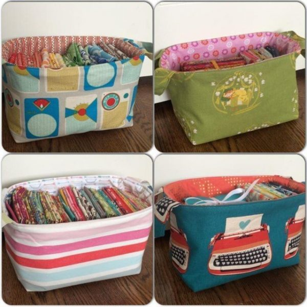One Hour basket sewing pattern review