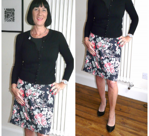 Sew a simple pencil skirt