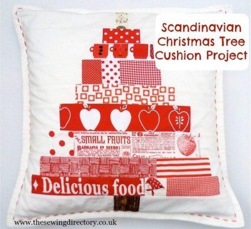 Scandi style Christmas cushion tutorial