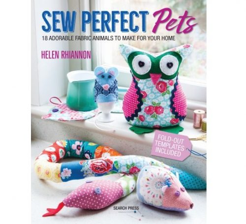 Book review of Sew Perfect Pets by Helen Rhiannon